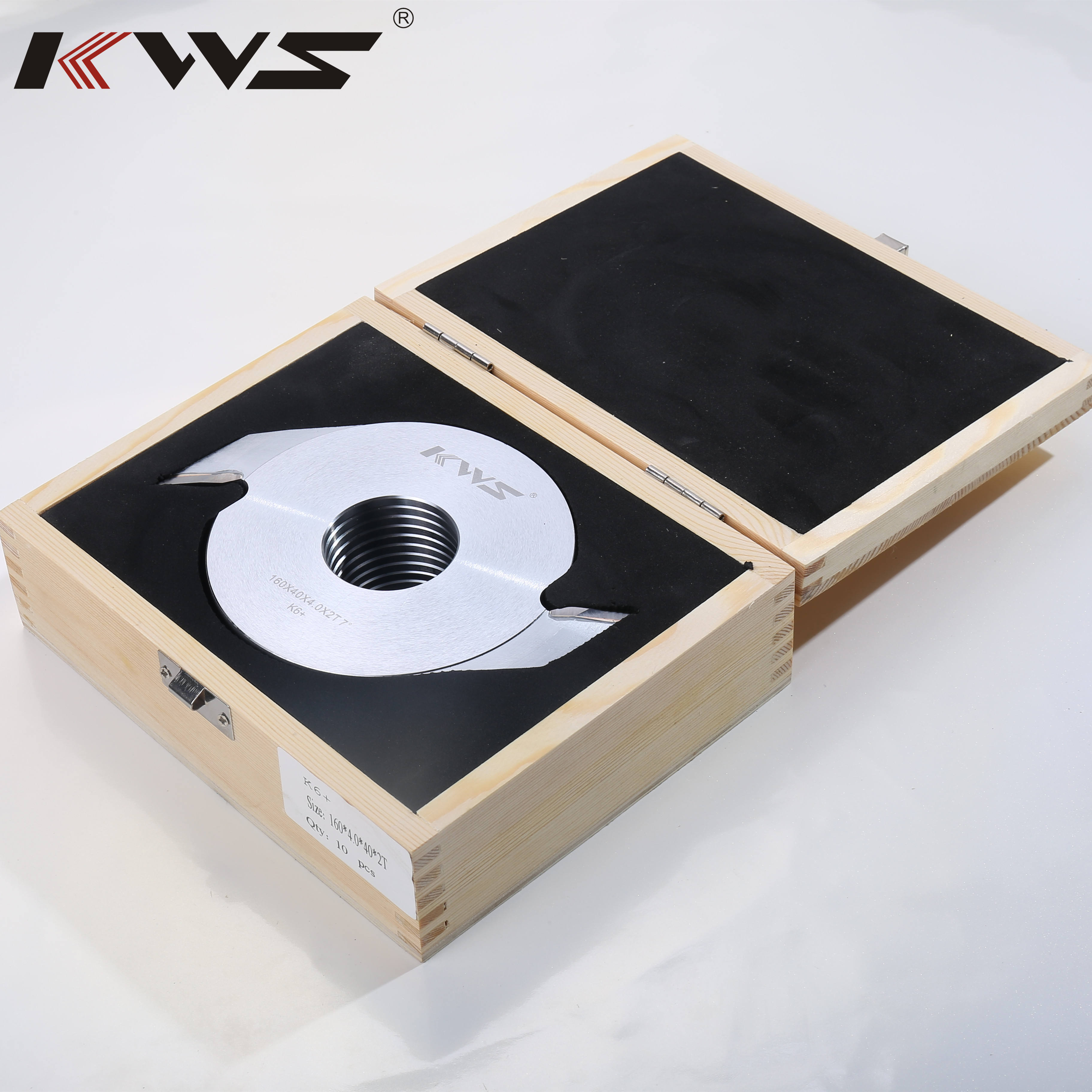 KWS 160MM 12MM Deep Finger Joint Cutter For Joint Solid Wood Saw Blade For Wood