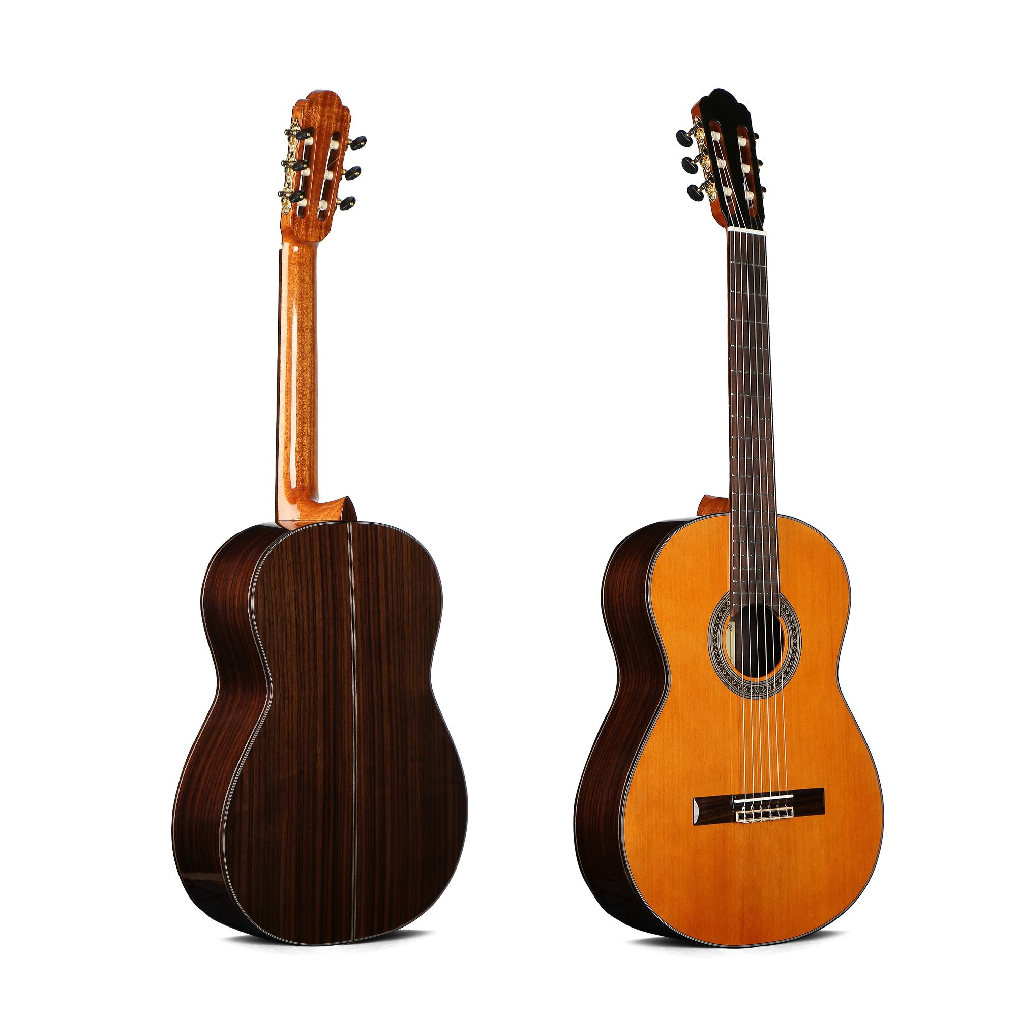 39 inch classical guitar all solid body high quality China hand made guitar wholesale CG-950S