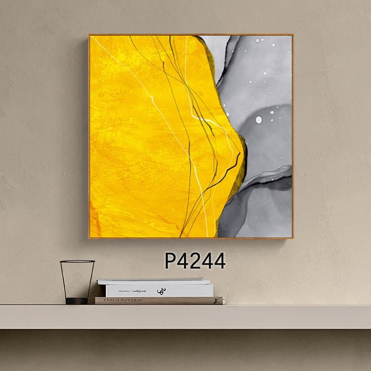 Dongjin 2020 New Wall Art Decoration Framed Abstract Canvas Oil Painting Picture for Home Office Bar Porch Hotel Room