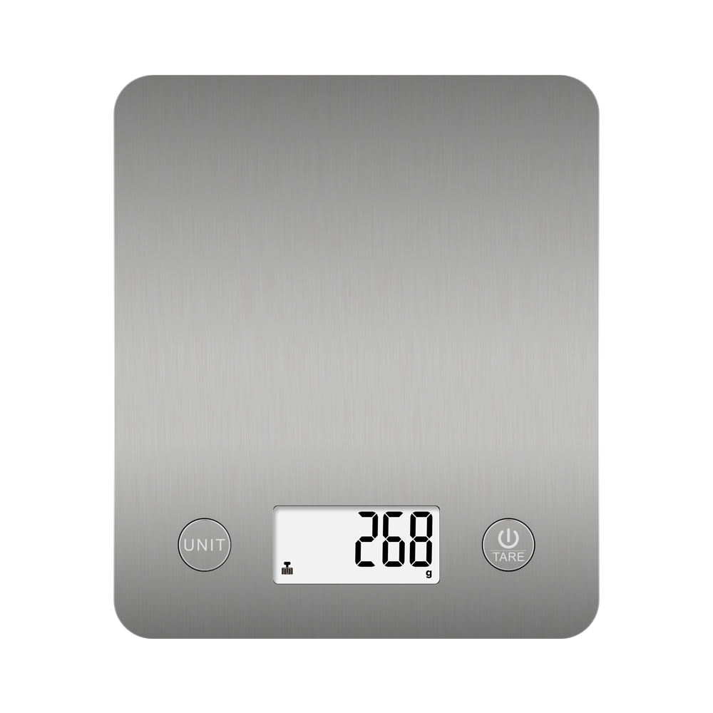 Hot Selling Smart Nutritional Kitchen Scale Digital Display with Stainless Steel Surface Smart App All-season 5kg/11lb