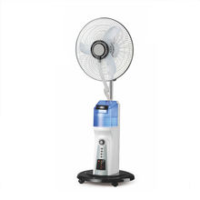 Rechargeable electric  Air cooling mist fan with water spray