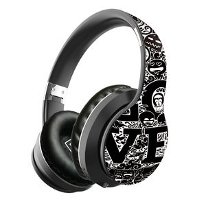 Fashionable Portable Headphone Graffiti Hand-painted Bluetooth Headset LULE EL-B1 Wireless Earphone For mobile phone Waterproof