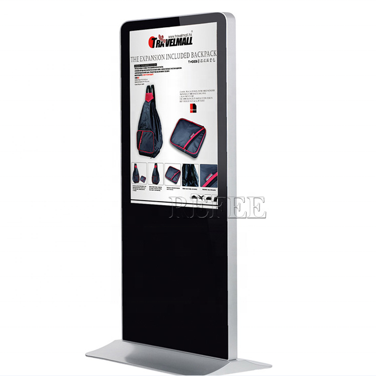 Newest 42 inch floor standing advertising display open source digital signage software