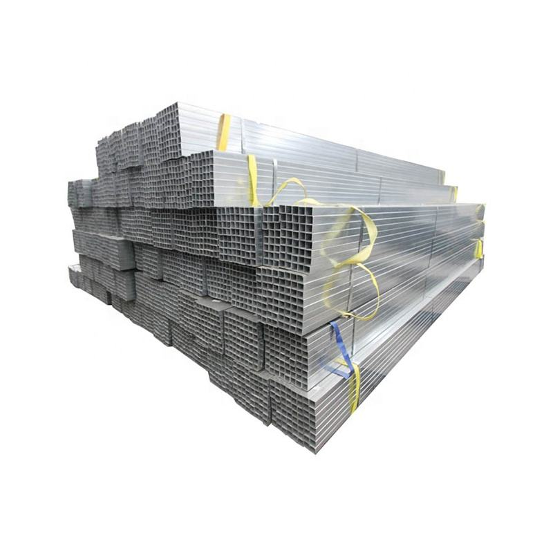 properties square tube 20x20 25x25 40x40 50x50 60x60 20x40 30x50 40x60 150x150 galvanized steel rectangular pipe