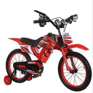 China wholesale moto design kids bikes cool design children bicycle 12 inch 16 inch Suspension bike baby boys motor cycle