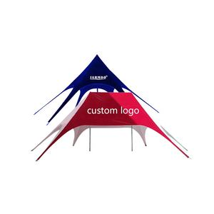 Custom Grote Pop Up Dubbele Top Tops Spider Event Tent Camping Beach Star Spider Tent Voor Outdoor Display Evenementen