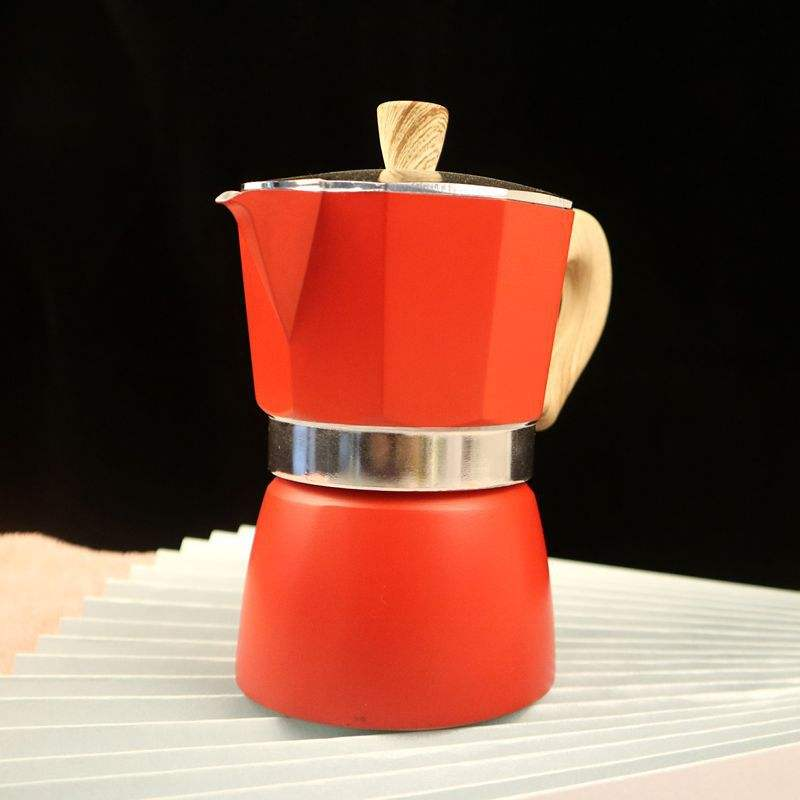 New Design Customized Classical Aluminum Electrical Stove Top Espresso coffee maker Moka Pot