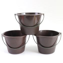 BIYU High Quality One Size Plastic Black Paint Bucket For Ho