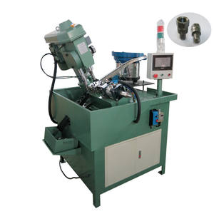 Fully automatic or semi automatic nuts drilling tapping machine