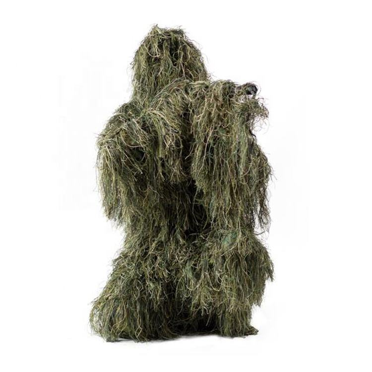 Outdoor Lightweight Woodland Custom Ghillie Suit