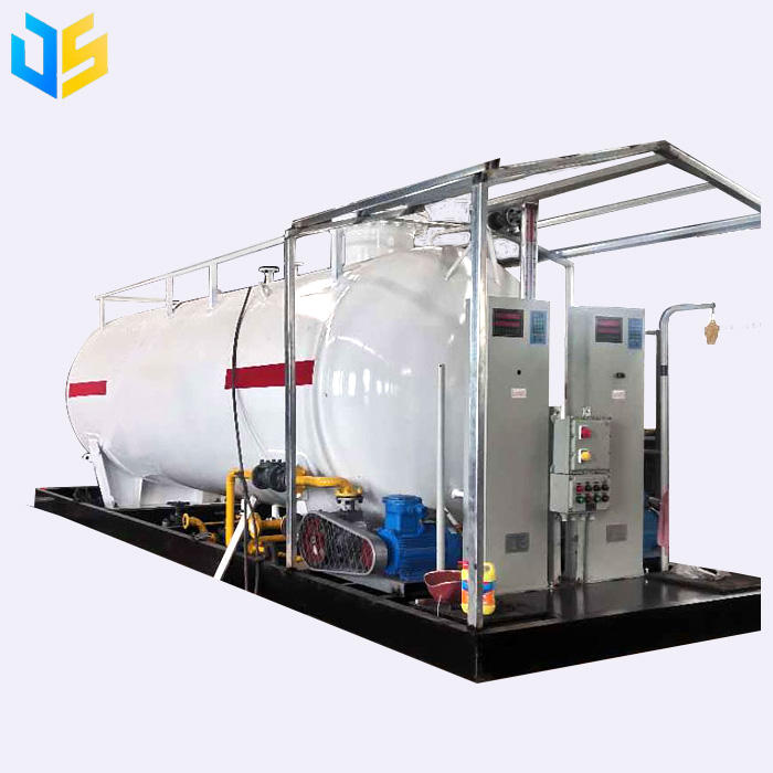 2021 factory supply mobile LPG filling station