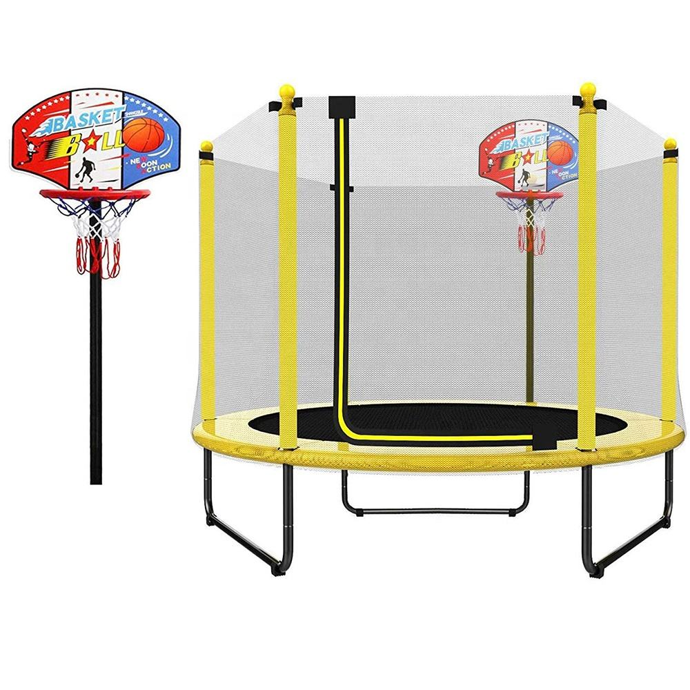Customized kids commercial tranpoline for sale, kid jumping interior trampoline commercial