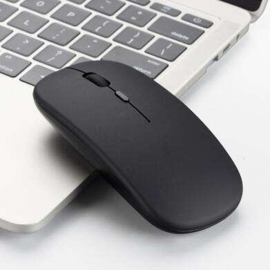 New Wireless Rechargeable Mouse 2.4GHz Ultra-Thin Silent Opto-electronic Mouse for Home Laptop Office Use Computer Mouse