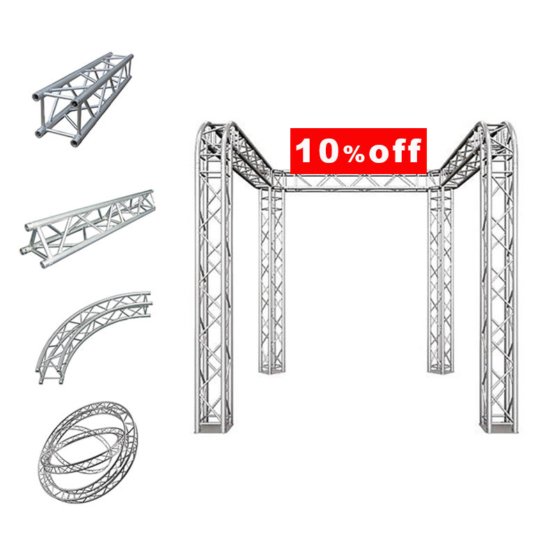 truss rod crank stage light aluminium truss display welding truss stage