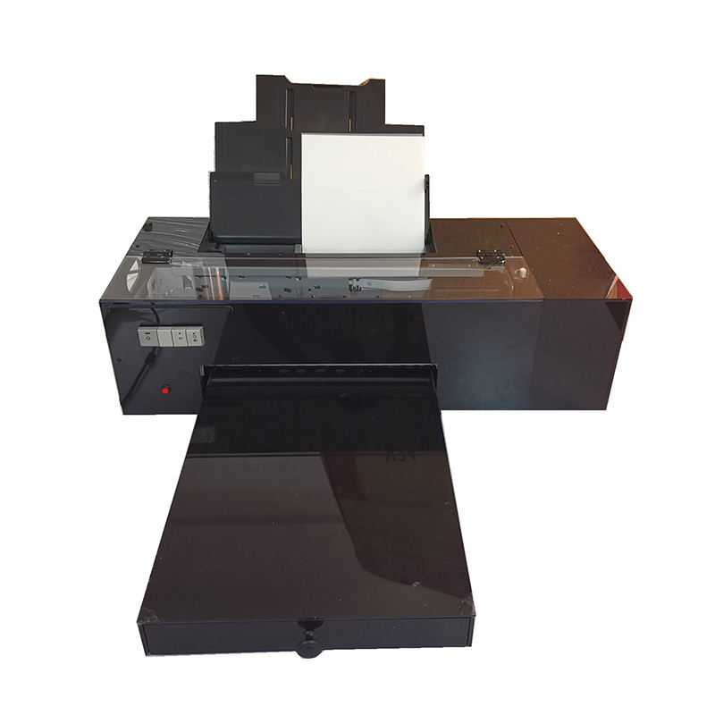 New Modified Impresoras Dtf L1800 DTF Ink Printers Digital Transfer Film Printer for Cotton Fabric Digital Printing A3