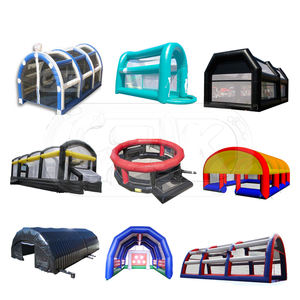 children's baseball inflatable carnival fun batting cage games sale