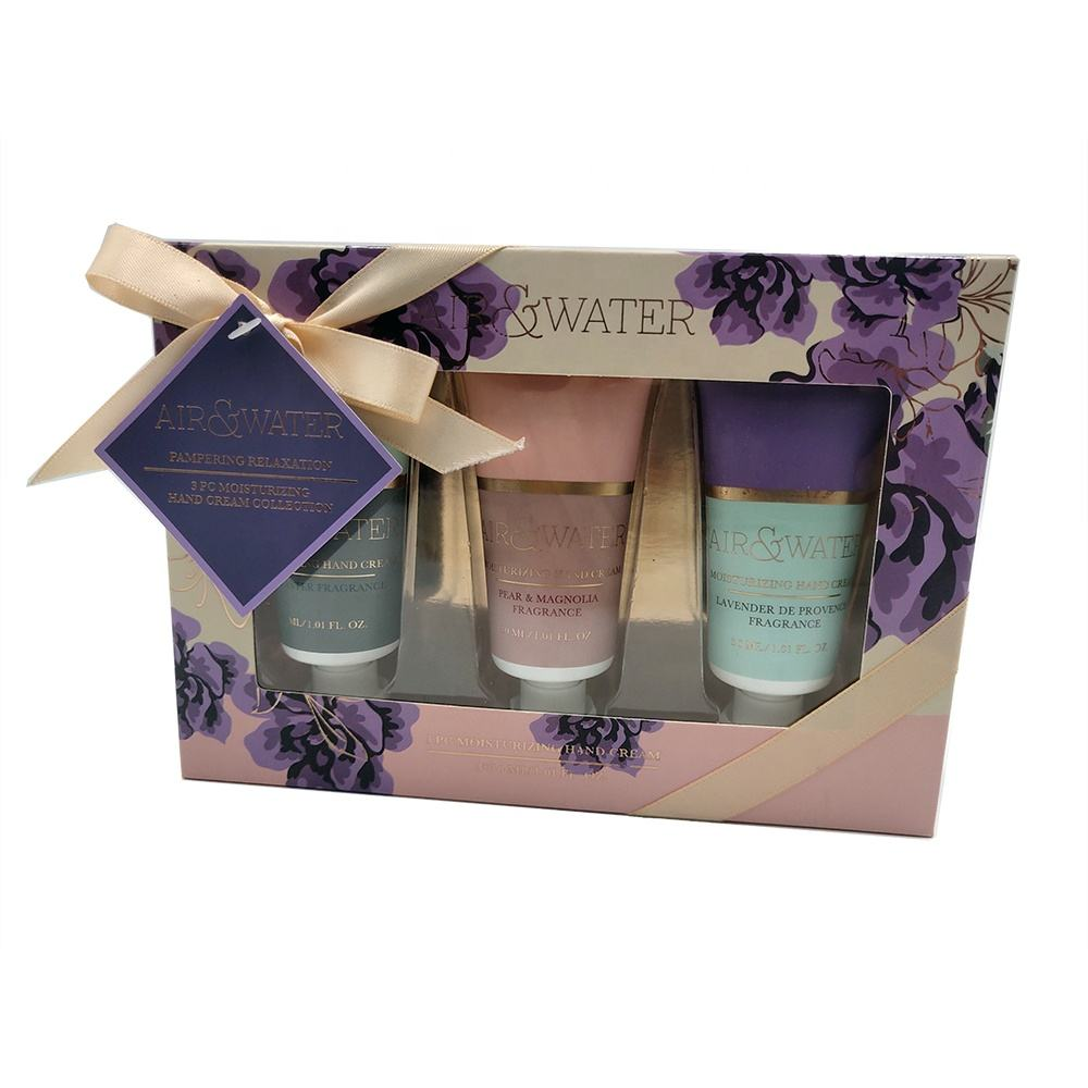 Intensive hand cream hand lotion collection moisturizing bath gift set