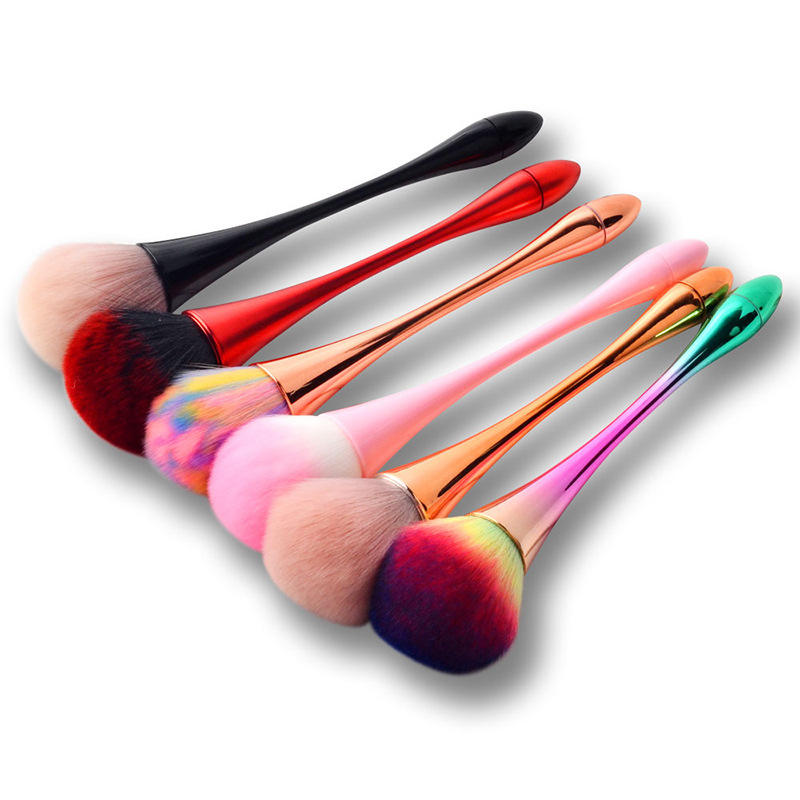 Single small waist makeup brush nail dust brush blush loose powder brush