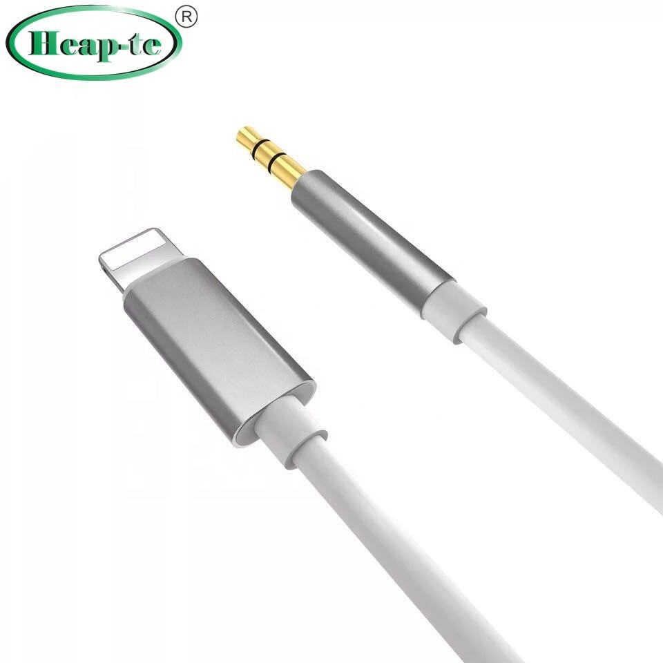 Bluk IOS14 High Quality for 8Pin to 3.5mm Aux Audio Adapter Cable For iphone Car Stereos Headphone Speaker Mobile phone