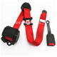 Hot selling accessories 3-point seat belt with seat belt pretensioner