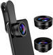 2020 Innovative Gadgets Clip 3 in 1 Cell Phone Camera Lens for iphone 11 pro