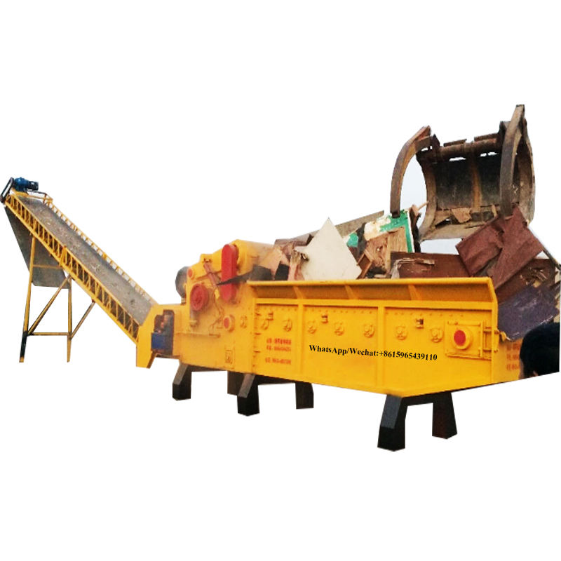 Wood Pallet/ Logs/Bamboo/Palm/ Tree Chipper Shredder Wood Crusher for Malaysia/ Thailand//Vietnam/USA/Russia