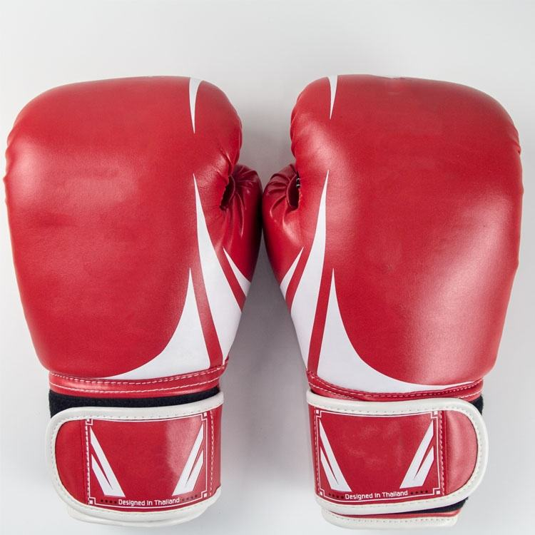 Wholesale 10 oz red boxing heavy training gloves