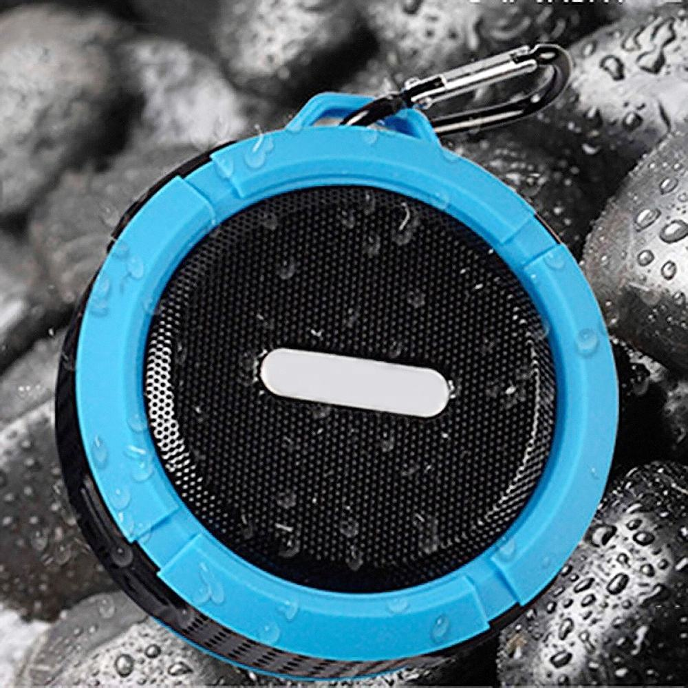Mini portable wireless waterpoof bluetooth speaker C6 with FM Radio and TF Card slot bluetooth speaker