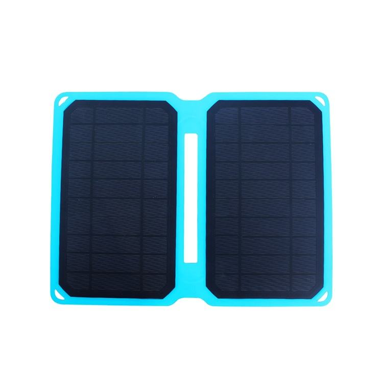 10w portable waterproof solar charge phone charger kit with smart controller