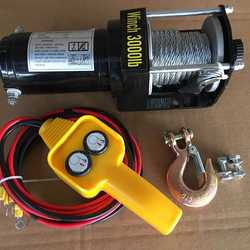 Heavy Duty Off Road Truck Electric Winch Car Winch 12V/24V W