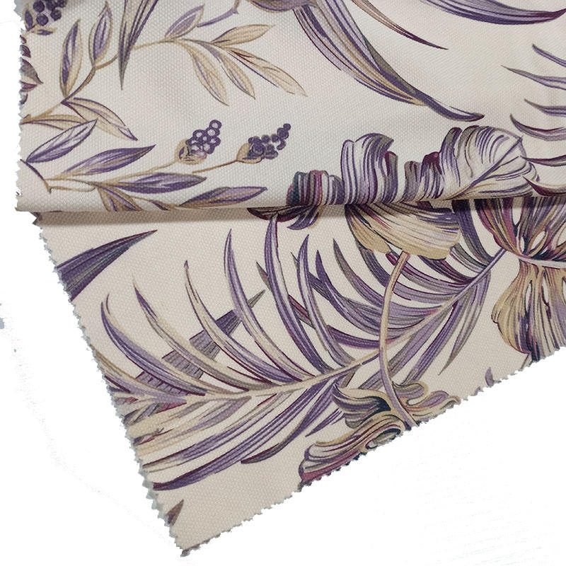 2021 new design printing flowers leaves flowers quilted knitted velvet fabric for sofa home textile fabrics