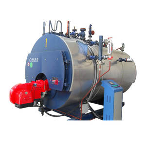 Wns industrial natural gas diesel oil lpg fuel fired central heating hot water boiler for hotel