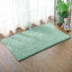 Chenille shaggy microfiber rug pure color latex back foot environmental protection non slip bath mat
