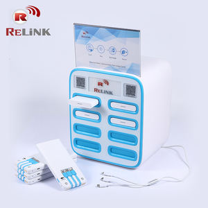 Commercial Advertising Charge Station Mobile Cell Phone Charging Kiosk