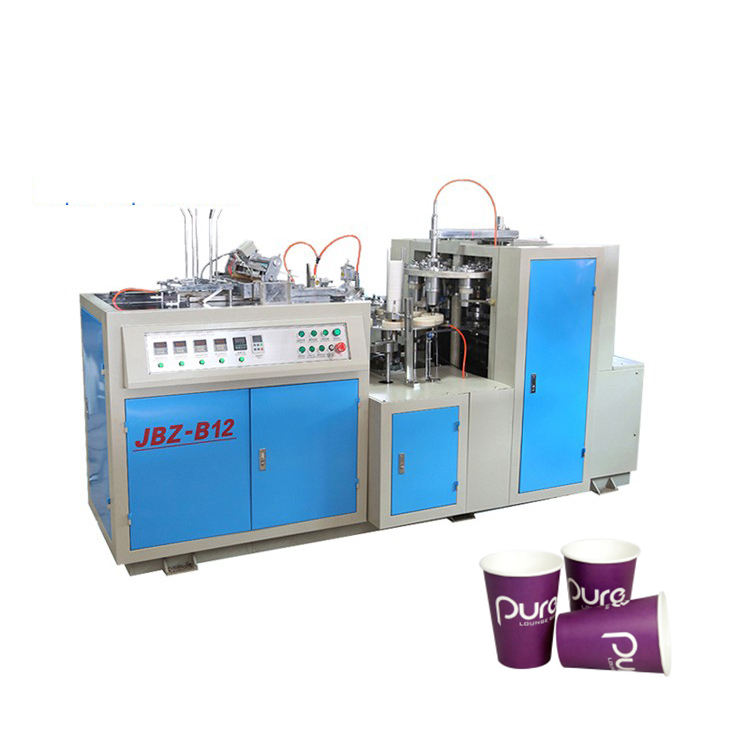 5KW Double Wall Ripple one time automatic Disposable paper cup machine