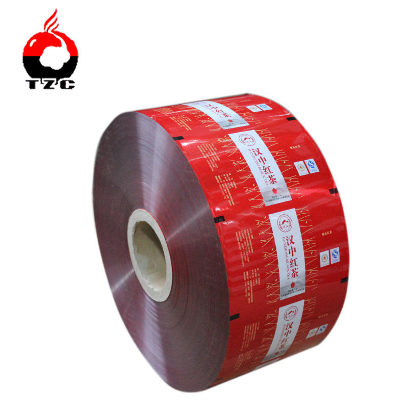 custom printing food grade film biaxially oriented polypropylene film