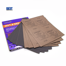 Atlas brand waterproof grit150 silicon carbide wood abrasive paper sandpaper