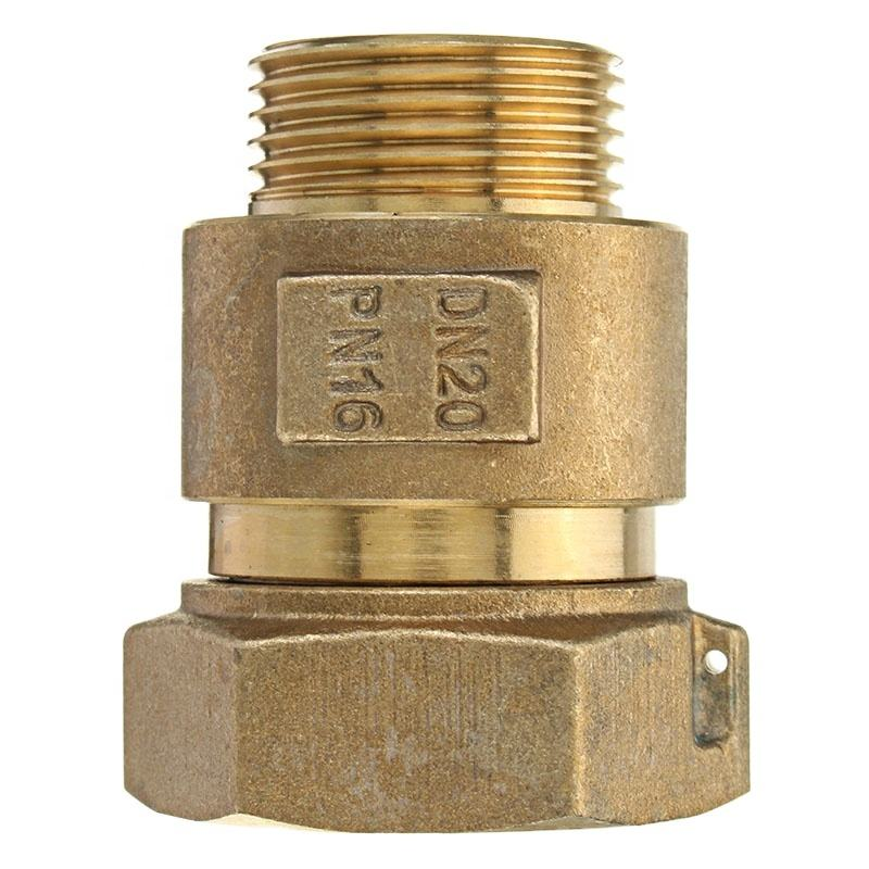 Groene Valve 1/2 Inch <span class=keywords><strong>Messing</strong></span> Watermeter Terugslagklep Installeren Achter Watermeter <span class=keywords><strong>Messing</strong></span> Fitting Met Goede Prijs