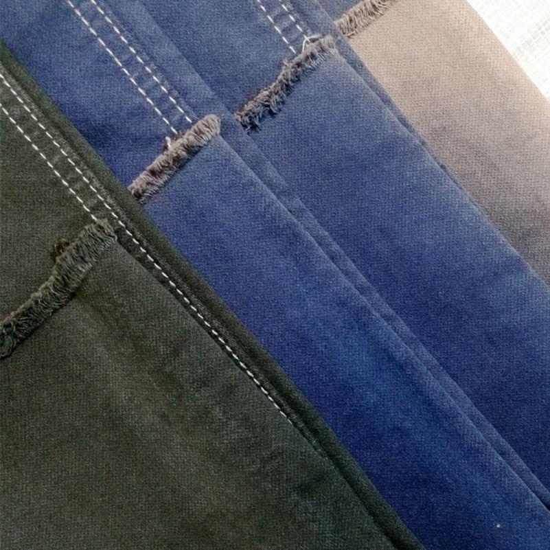 Высокое качество, горячие продажи ткань твил хлопкового материала на основе спандекса, выполнено в цветовой гамме ткань