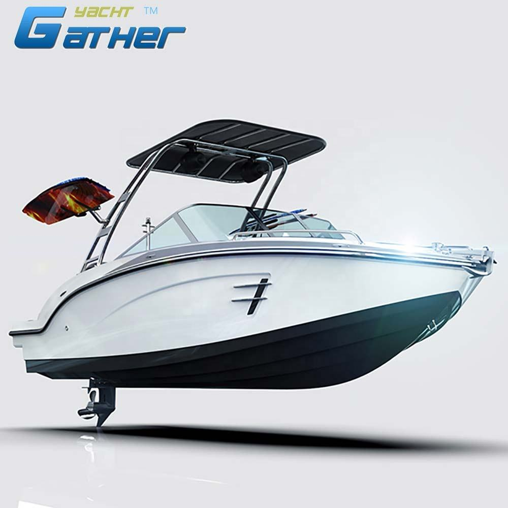 Hot sale factory direct sale 19ft fiberglass sport boats, motor boat,speed boat