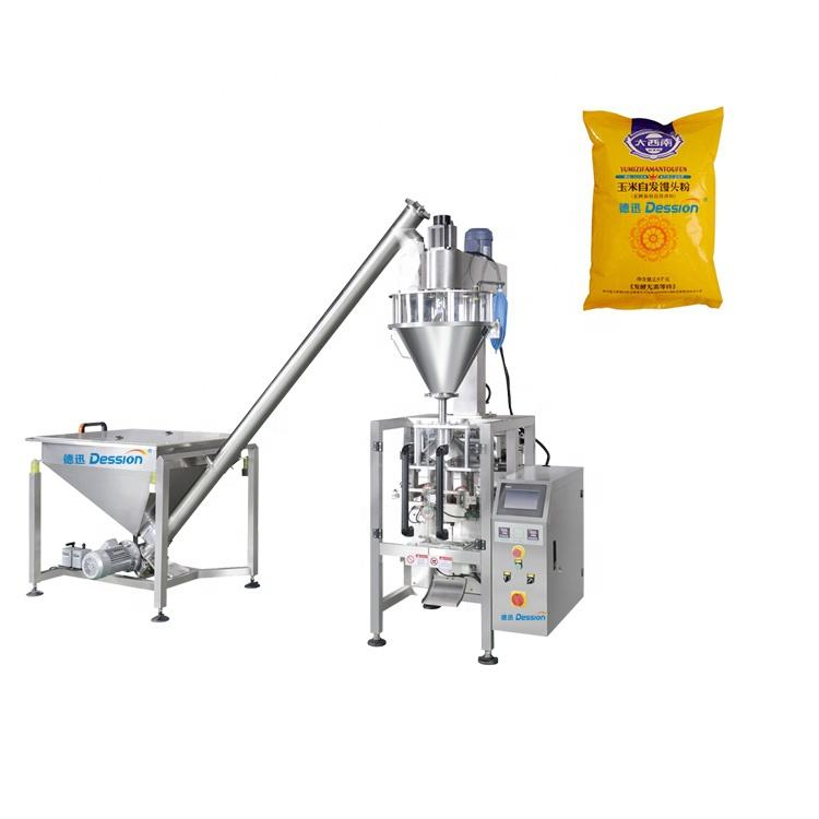 Cornice Powder 25 Kg Packing Machine For Flour