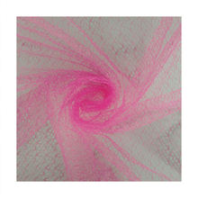 pink spider nylon mesh fabric for packing bouquet