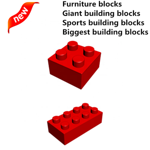 Biggest Diy toys Giant Furniture building blocks Large Sports building toy China new legoings toys Kids Super blocks (NO.PA0037)