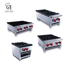 Commercial Custom countertop 1/2/4/6 Burner Gas Cooker Furnace Cooking Pot Stove Gas Range