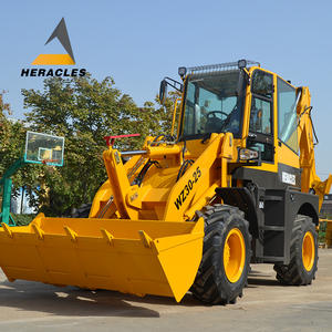 WZ30-25 Depan Backhoe Loader 4 Wheel Drive Backhoe Loader Digger