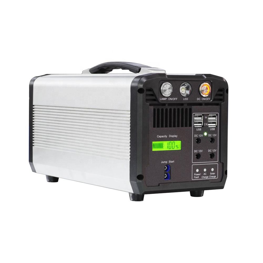 Outdoor 300W/500W/700W 110V 220V Portable Power Station Case with CE/FCC/ROHS/PSE