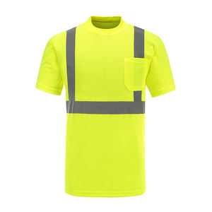 Spot wholesale reflective high quality safety t-shirts
