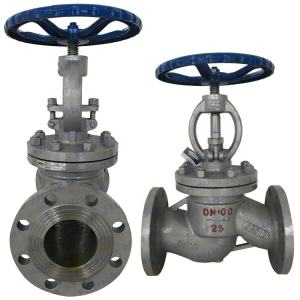 Bundor WCB/Cast steel/ outside stem PN16 flange 4inch cast iron bellow globe valve