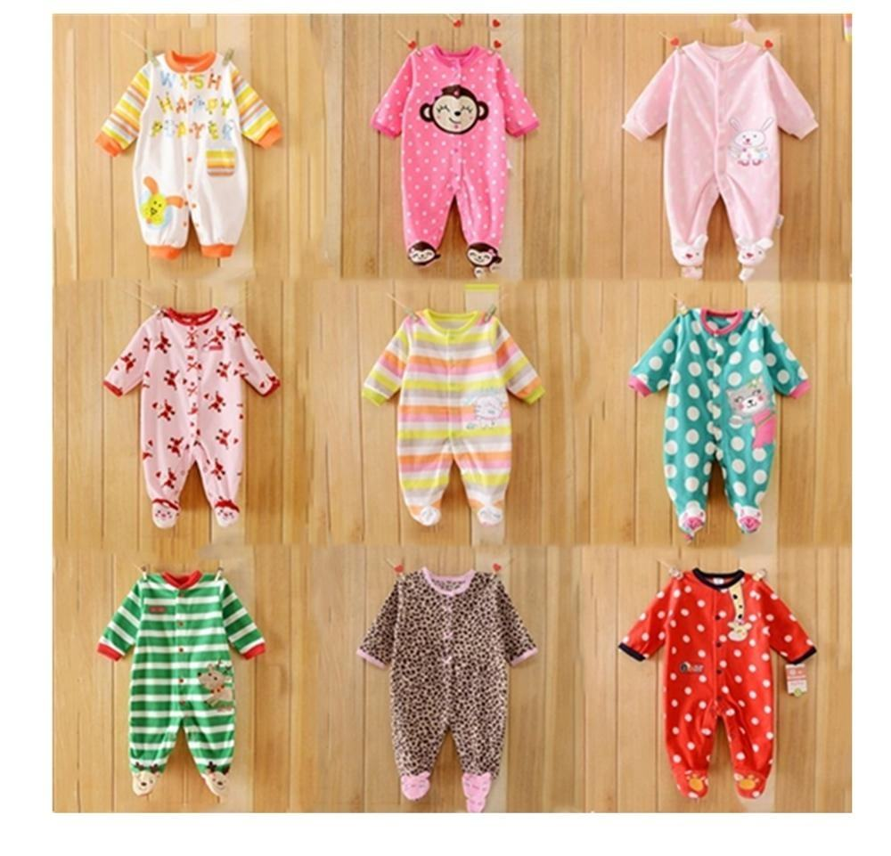 New born baby wear cotton baby romper baby clothes factory price