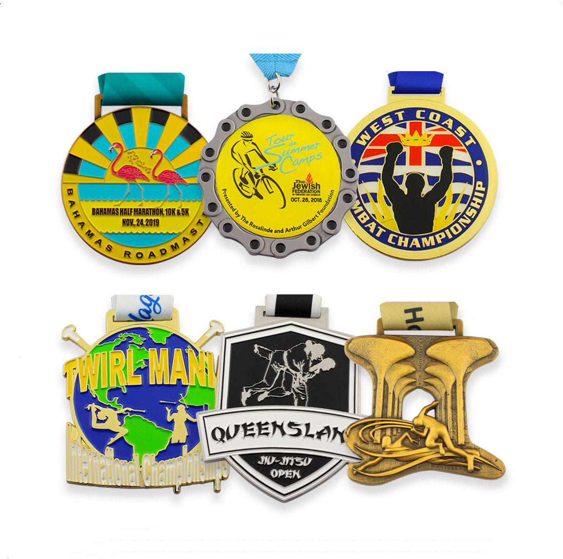 제조 custom (high) 저 (quality 싼 price 아연 합금 plating running sport metal medal